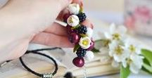 Jewelry BLOOMGLORIE / Handmade jewelry, jewelry sets, jewelry display, jewelry making, fotoset ideas https://www.etsy.com/shop/Bloomglorie