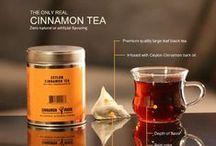 Cinnamon Tea Ideas / The World's best Ceylon Cinnamon Tea. Made with premium large leaf BOP Ceylon tea and 100% Ceylon Cinnamon Bark Oil. An outstanding tea with great body, flavor, color and taste. http://www.cinnamonvogue.com