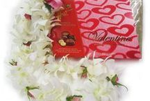 Valentine's Day Gifts from Hawaii / Unique Valentine's Day Gifts! Fresh flower leis, heart-shaped anthuriums, made-in-Hawaii chocolates and spa products and much much more. Lots of wonderful ideas for Valentine's Day.