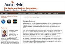 Book To Podcast interviews / These are Book To Podcast interviews with published authors or soon to be published authors within the Business, Self-Help and Health & Wellbeing genres. Interviews feature on iTunes and across 8 other podcasting distribution channels.