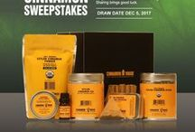 Cinnamon Sweepstakes / Details of our Sweepstakes promotion on Facebook.