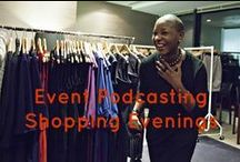 Event Podcasting Interviews at Shopping Evenings / This is a board from event podcasting interviews from shopping evenings. If you would like to listen to more interviews here - http://www.audio-byte.co.uk/category/event-podcasting-case-studies/portfolio/shopping-evenings/