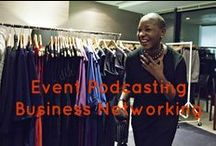 Event Podcasting - Business Networking  / Event podcasting is a way for you to capture feedback and comments from delegates/attendees of your event using audio and podcasts. These are interviews at Business Networking events covered.