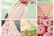 pallettes of colour