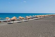 Santorini's Best Beaches / Thanks to its volcanic nature Santorini offers lunar-landscape beaches for uniqe moments. http://goo.gl/87EW9F