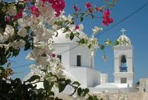Megalochori Village / Megalochori is a quait village in the mainland of Santorini with a long history and tradition in wine-making. Thanks to its restored villas and mansions it offers a relaxing holiday in absolute privacy and within traditional settings. http://goo.gl/HzMpy5