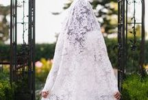 """Bridal Veils / """"Without the veil, you're just another girl in a white dress. With the veil, you're a bride!"""" -Randy Fenoli"""