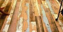 Floors / Vloeren / Vloeren pimpen, designs, kleuren..