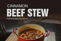 Cinnamon Soups & Stews / Explore a delicious collection of soups that artfully uses Cinnamon to make your soups and stews come alive.