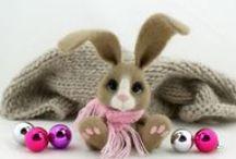 Króliki :) / Filcowe króliki