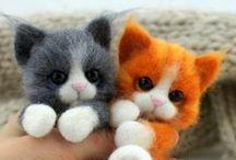 Cats , Koty , / Filcowe kotki :)
