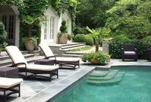 Exteriors / Decor focused on landscaping and structural design.
