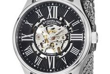 Skeleton Watches: Legacy Collection / True artistry of the mechanics and design behind a Stührling Original is seen first hand in the transparent view of gears within a skeleton watch.