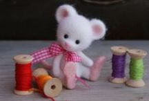 Mysz , wiewiórka , szczur , jeż na 1000 sposobów :) / mysz