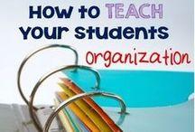 Tips for Developing Organizational Skills / Helpful tips to help children gain organizational skills