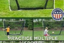 CrocBox / The worlds first buried multi-sport net! Our sports net system combines ease of use and convenience with the ability to all but disappear. After installation, the net is ready to use in 45 seconds and is easily put away in 45 seconds. When not in use and closed properly, you can forget about it. Mow over it, drive over it, leave it out in any season.