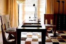 Afrique / Taking cues from fashion, we imagine a room using pieces from Pfeifer Studio and beyond.