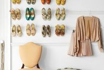 Closet Organization Solutions / Tips and ideas for keeping your closet clean and organized so you can find what you need in a hurry.