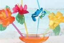 Tropical Sweet 16 / A Tropical Sweet 16 is the best way to relax and have fun!  Grab a lei and have a luau!