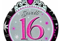 Sparkle & Bling Sweet 16 / Sparkle and bling at your Sweet 16 with this fun and cute theme!  Lots of sparkle makes this party one of a kind!