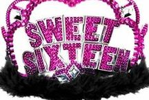 Pink & Black Sweet 16 / Pink & Black Sweet 16 theme is the perfect combination!