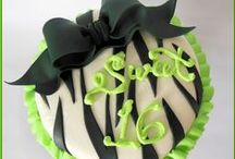 Lime Green Sweet 16 / Go Green!  This lime green Sweet 16 theme is super bright and colorful!  Stand out at your party!