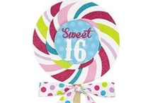 Candy Craze Sweet 16 / Candy, Candy, Candy!  Get your sweet tooth on with this delicious Sweet 16 party theme!