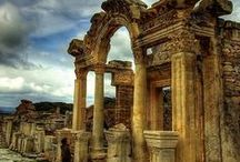 Ephesus / Ephesus was one of the largest and most important cities in the ancient Mediterranean world, lying on the western coast of Asia Minor. During history, important persons such as Cleopatra, Marc Antony, Prophet Marcus and Virgin Mary had their residence here...