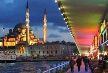 Istanbul / This was a world divided, a city of opposing forces - religious, secular; ancient, modern; Eastern, Western. Straddling the geographic boundary between Europe and Asia, this timeless city was quite literally the bridge from the Old World … to a world that was even older. (D. Brown)