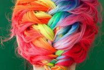 Rainbow - colores!!! Me encantan los colores!!!