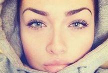 Makeup and Eyebrows / Eyebrow Shape,Makeup Ideas, Contour,Highlight,Foundation,Blush,Lipstick,Gloss,Eyeshadow,Mascara,Primer