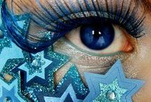 Blue my World / color, blue, misc,all things blue, hair, clothes, eyes, animals,makeup,nature,