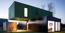 Container architecture / Architecture from shipping containers