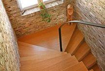 Stairs / Stairs with bricks