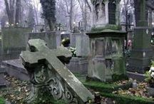 Beautiful grave monuments