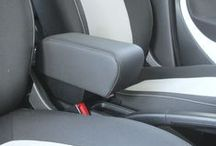 Armrest Smart Fortwo and Forfour 453 MCC / SMART FORTWO C453 SMART FORFOUR W453  Specific armrest and storage with soft pad and real stitching. The armrest is made and designed using only the best materials sourced locally from the best suppliers to guarantee comfort and lastingness. Hand made and finishing, 100% made in Italy