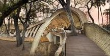Hospitality Architecture / Hospitality architecture including boutique & getaway hotels, restaurants and bars, resorts and retreats, cool vacation rental cabins, astonishing treehouses, vintage lake cabins and more.