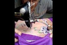 (Od)ręczny haft maszynowy