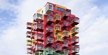 Facades / Facades form the face of the building. Compilation of some striking facades that make the building stand out.