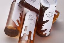 Honeylicious dishes and honey packaging designs