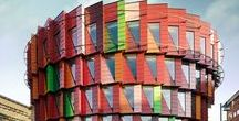 Color / A unique collection of vibrant and colorful buildings from around the world with different programs, scales and building materials.