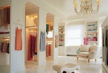 Home - Closets & Dressing Rooms / We LOVE an organized closet! And we have dressing room dreams!