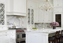 Home - Kitchens / These are the kitchen's dreams are made of! These beautiful rooms will inspire our someday home!