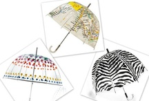 Style - Chic Umbrellas / Just cause its rainy and dreary, doesn't mean we can't be cute and colorful! Just add a chic umbrella!