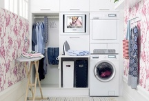 Home - Laundry Room / If we have to do the laundry, we might as well do it in a chic and stylish room!
