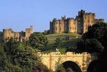 Alnwick Castle architecture / There has been a castle on this site for over 1,000 years - we're proud of such a long history!
