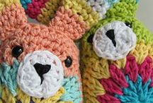 Crocheted Stuffies. / Patterns and pics of crocheted stuffed animals. / by Heather Texter