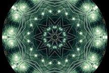 Mandalas, optical ilusions and fractals