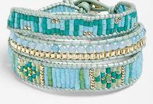 Macrame bracelets and patterns / Bracelets macrame / beaded