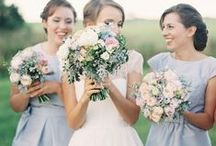 Bridesmaid Dresses / Find dreamy dresses in all lengths and hues for your bridesmaids to wear on your big day.